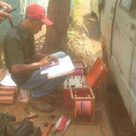 Tukang Gali Sumur Bor di Jakarta