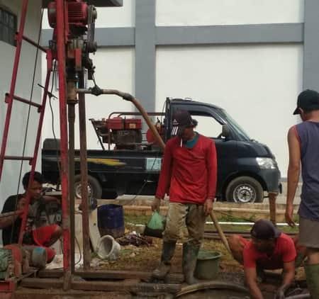 Pembuatan sumur bor baru 2
