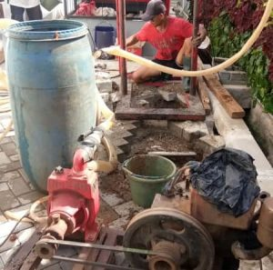 Pembuatan sumur bor baru 4