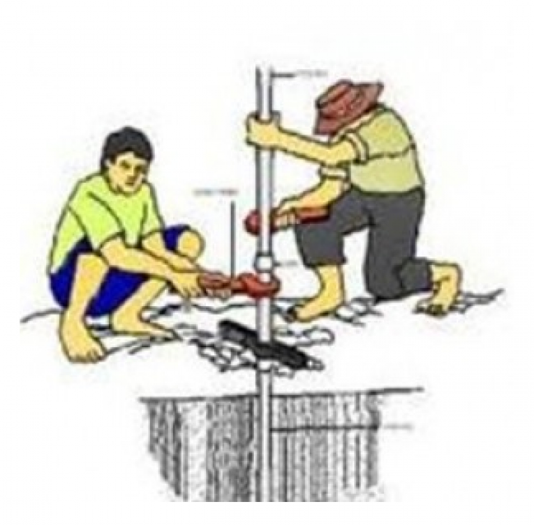 Harga Dan Cara Pembuatan Sumur Bor Manual